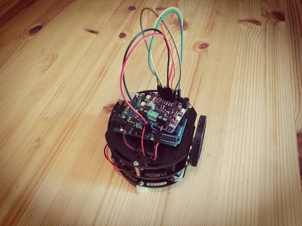 My First Arduino Built Robot Car